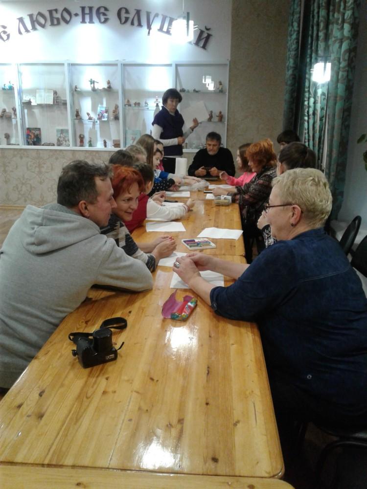 Встреча с мастерами из Сочи