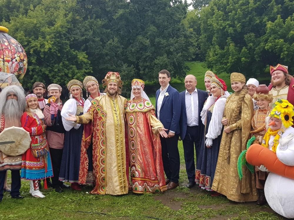 Уемский Сеня Малина на «Русском поле» в Коломенском