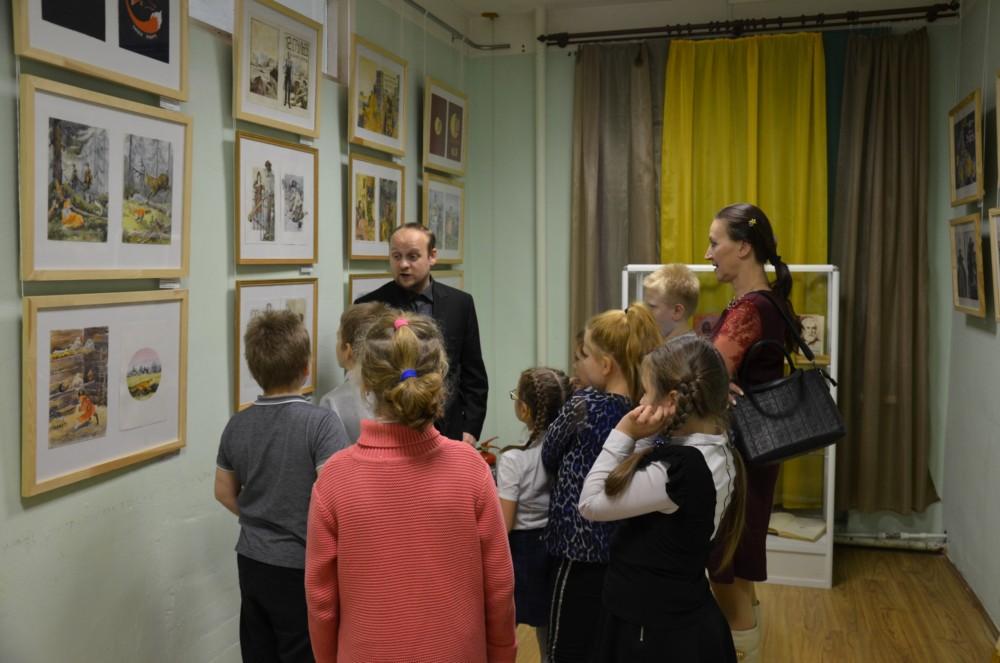 «Читающая художка» в музее