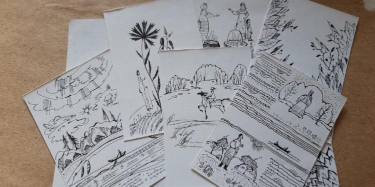Иллюстрации к будущему сборнику