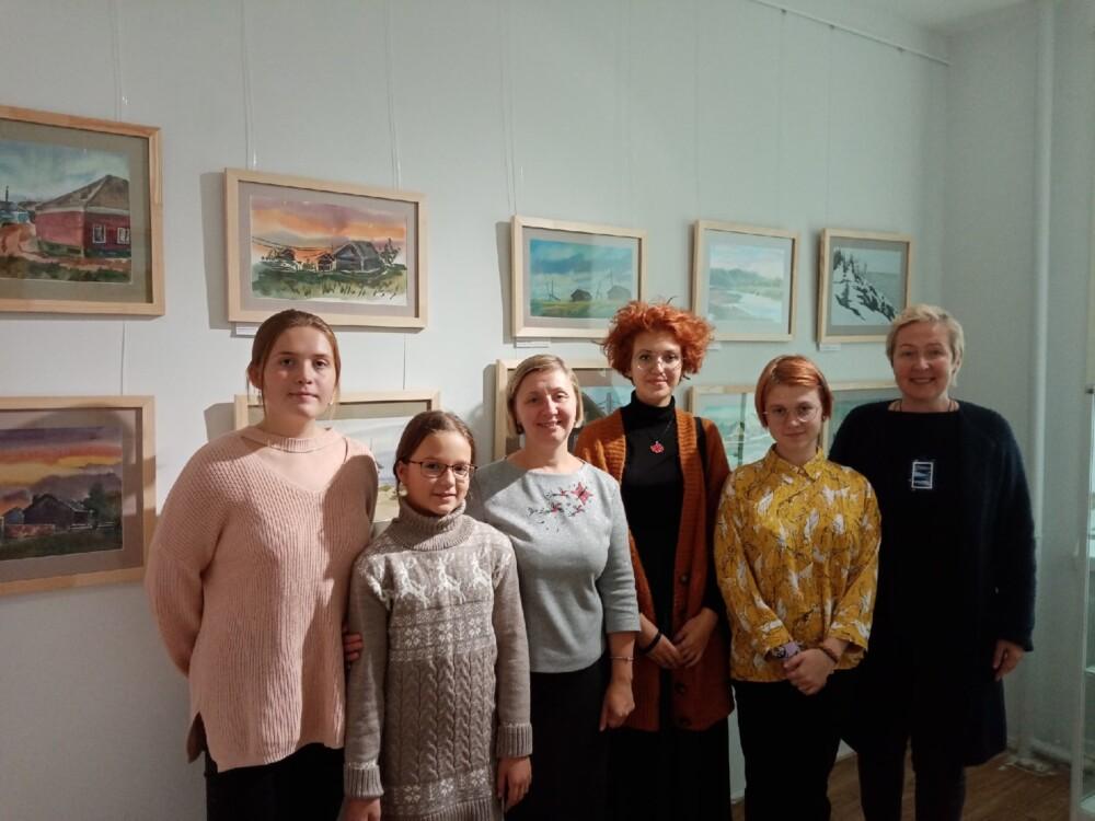 Открытие выставки «У моря Белого»